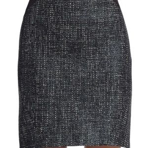 t Tahari join tweed color block skirt